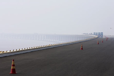 hangzhouBayR 468x312 A maior ponte do mundo   Curiosidades