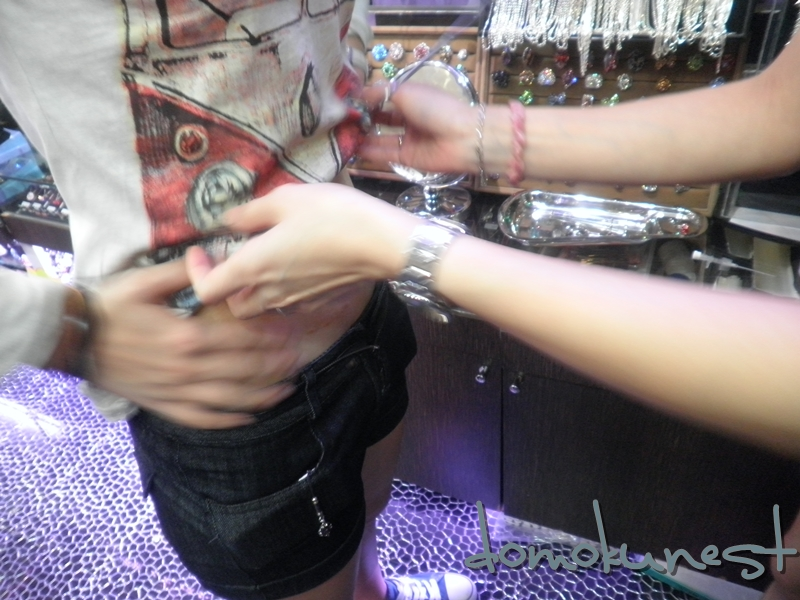 Something is. Cock piercing video you