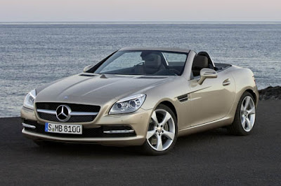 Mercedes new SLK model image