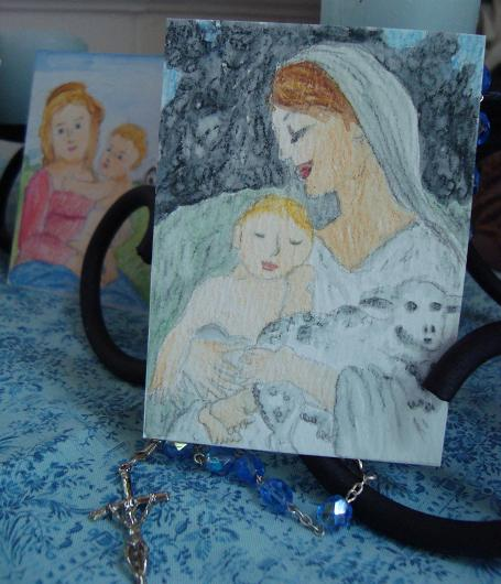 Art For Our Lady- Trading Card Swap