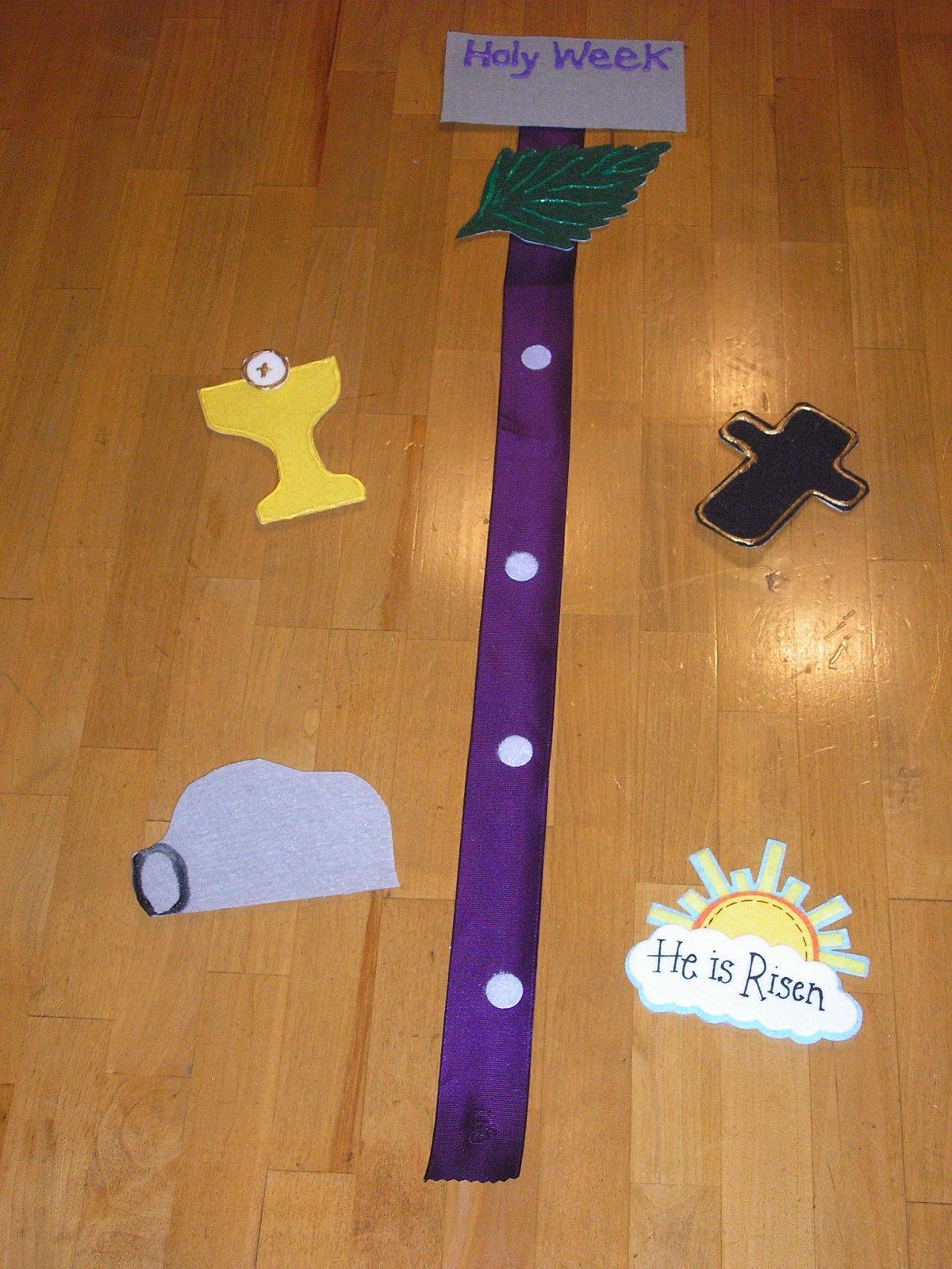 Holy Week Crafts