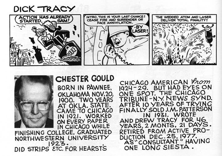 dick tracy chester gould