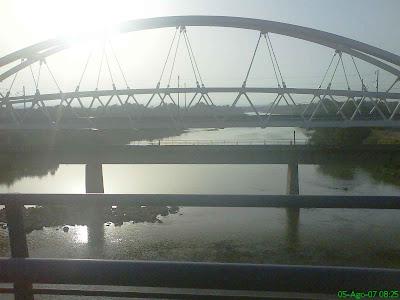 puentes del tren en Zaragoza