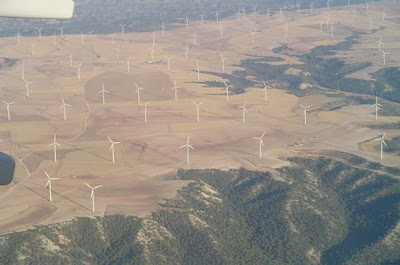 foto aérea de La Plana