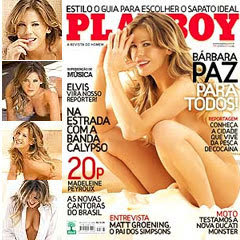 Playboy Barbara Paz M S De Setembro Baie Tudo Gratis