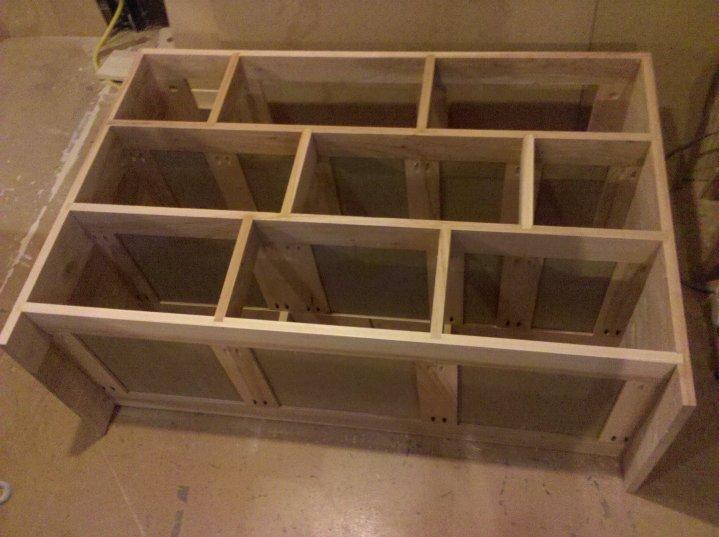 dovetail dresser. dove tailed frame dovetail dresser