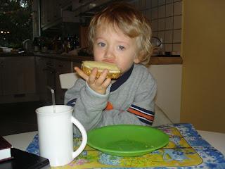 jem kanapkę