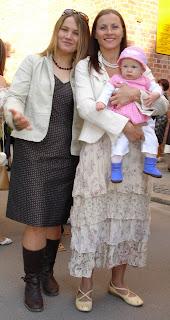 sonix z mamą i ciocią Olą