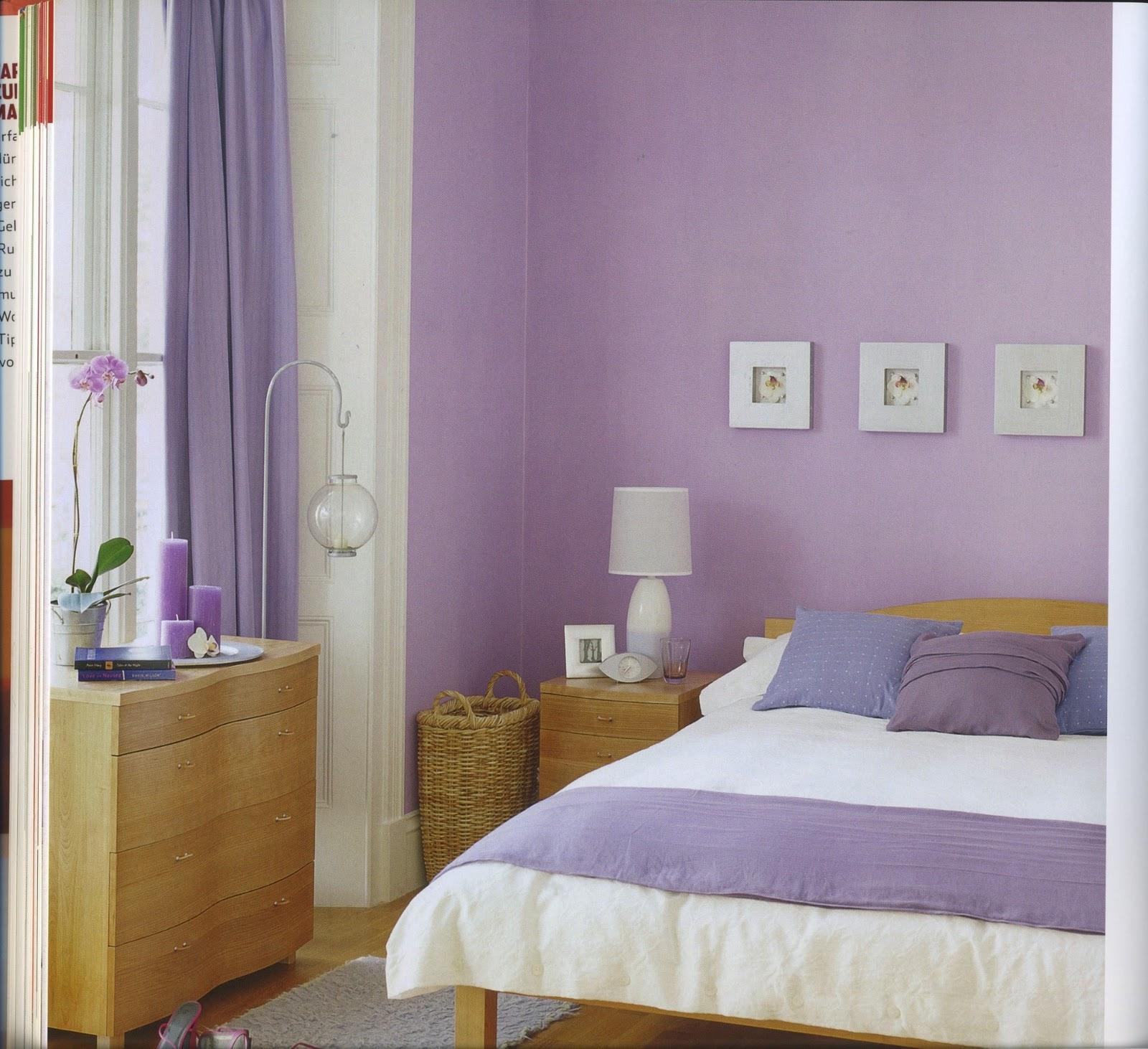Wandfarbe Violett Lila Kolorat Eine Auswahl In Lila: Julia´s Innenwelten: Alles So Schön Bunt Hier