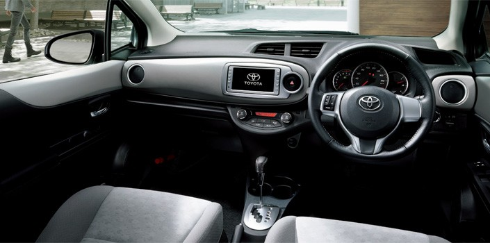 Image result for toyota vitz interior