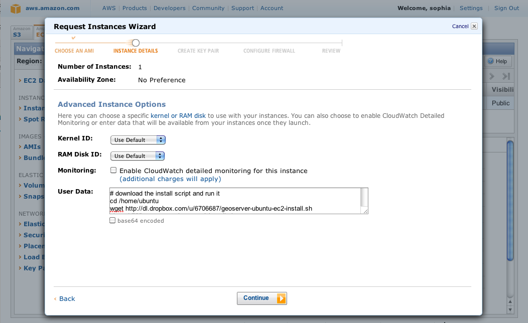 sproke: Install GeoServer on Amazon EC2 without leaving the