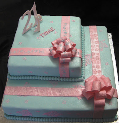 21st Birthday Cake On And Party Ideas Cakes