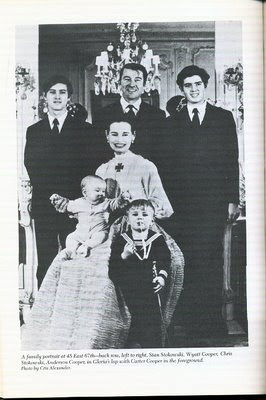 Gloria Vanderbilt WyattandFamily