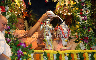 RADHASTAMI: THE DIVINE APPEARANCE DAY OF RADHARANI CELEBRATED IN