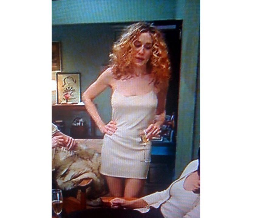 Carrie Bradshaw Naked Dress 113