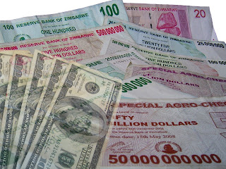 Us Dollars The New Zimbabwe Dollar