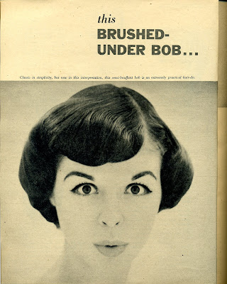 Peachy 1950S Hairstyles With Bangs Hairstyles For Women Draintrainus