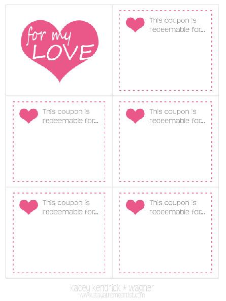 Diy Coupon Book Template valentine love romantic love and – Coupon Book Template