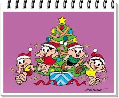 Anima Animasi Turma Da Monica Em Natal