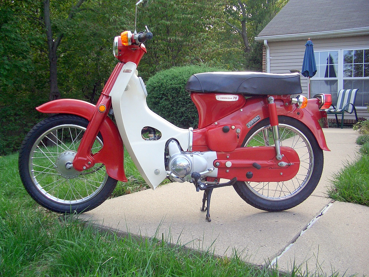 the honda super cub my baby 39 s for sale. Black Bedroom Furniture Sets. Home Design Ideas