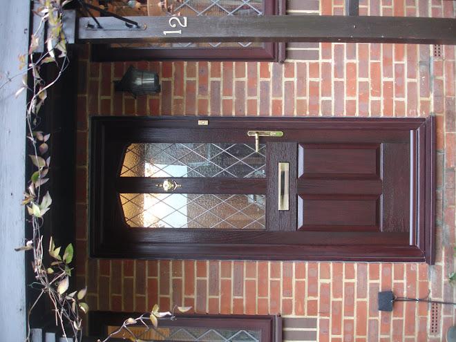 Rosewood Composite Door