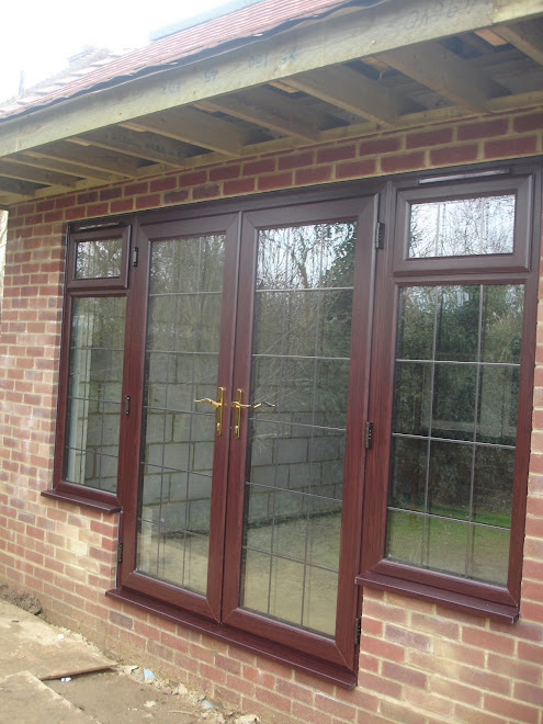 French Doors Antique Sq Lead