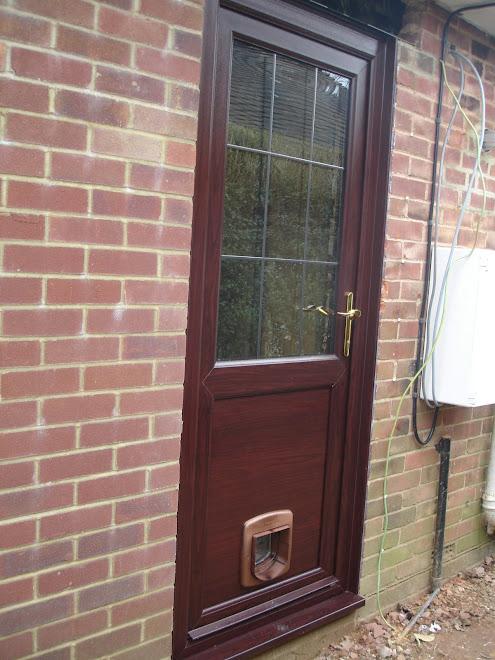 Rosewood Panel Door