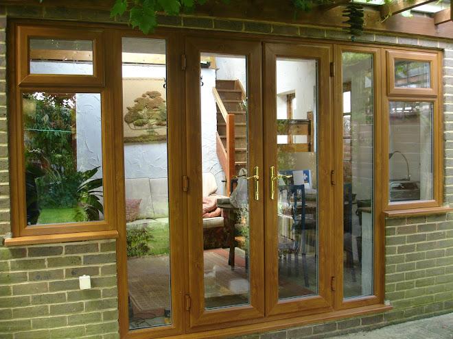 French Doors - Light Oak