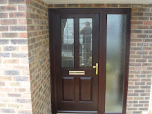 composite door with side frame