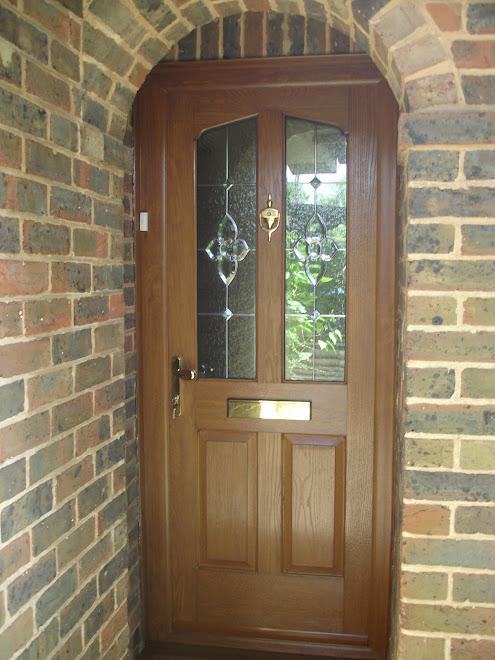 Light Oak Composite Door