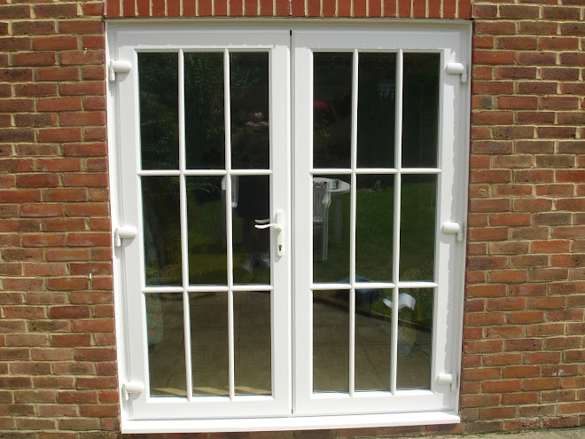 French Doors with Astrigal Bar