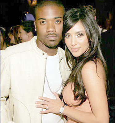 kim kardashian & ray j