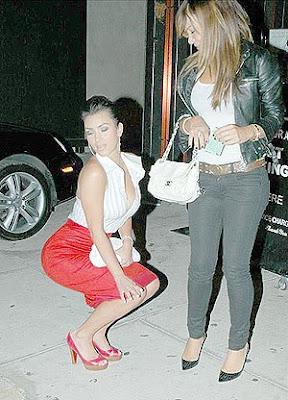 kim kardashian before after butt