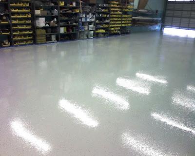 Warehouse Floor High Gloss Epoxy Coating I Opa