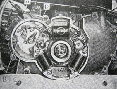il galletto guzzi: il galletto 160 cc quarto tipo