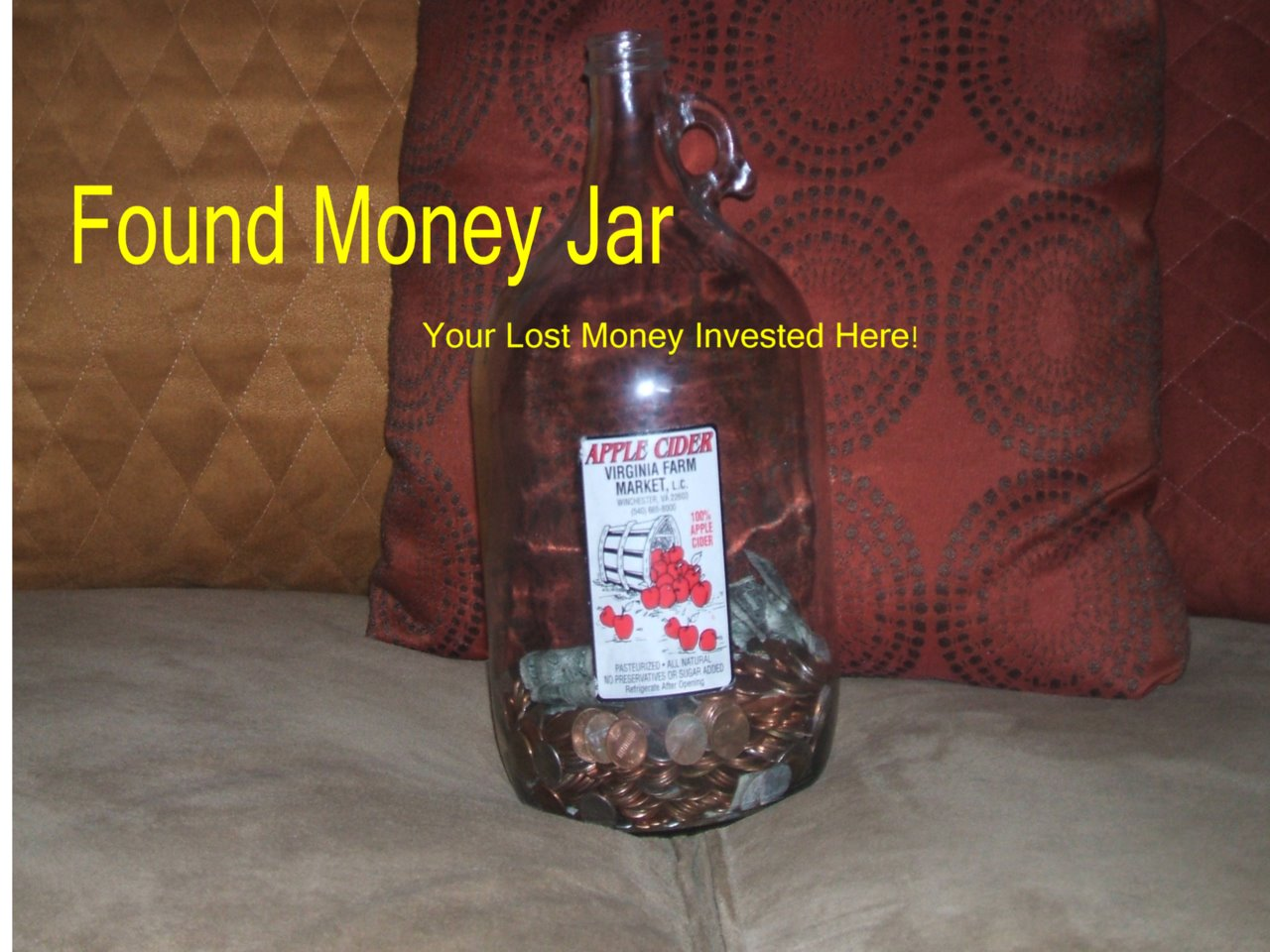 The Found Money Jar