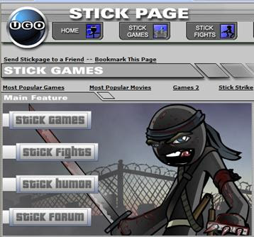 Stickman Page