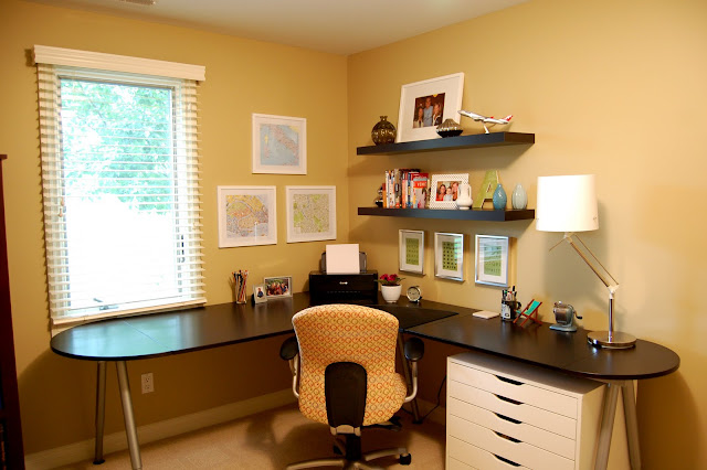 Office Desk Chairs Target Folding Adirondack Remodelaholic | 33 Shades Of Green Home Tour