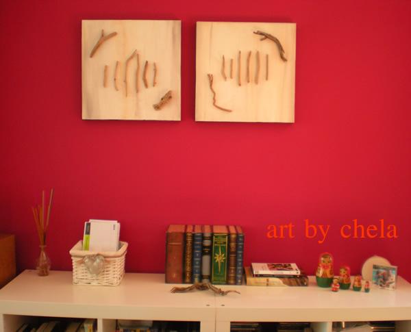 Art by chela naturaleza en la pared ideas para - Cuadros para pared ...