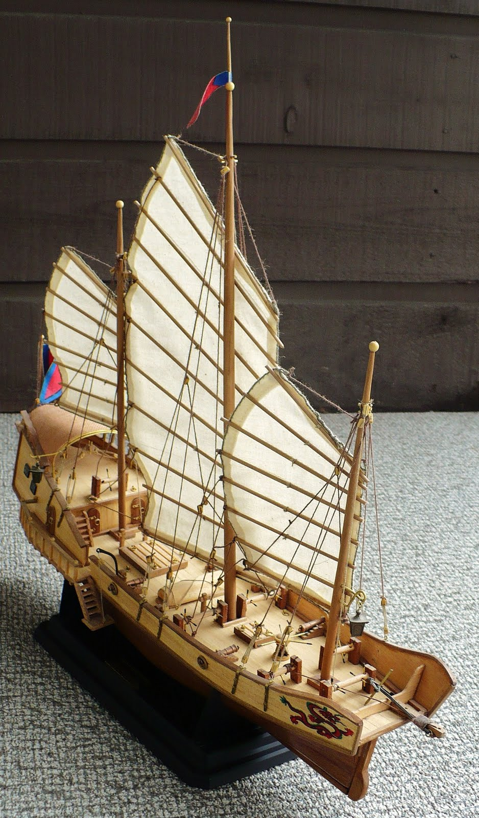 The Great Canadian Model Builders Web Page Red Dragon