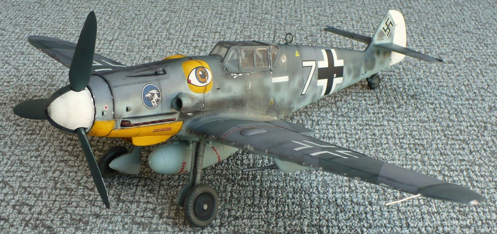 The Great Canadian Model Builders Web Page BF 109 G6 Re Post