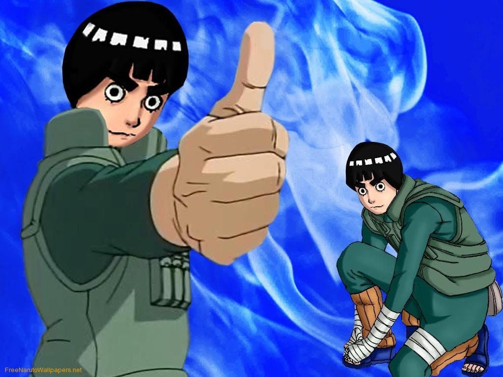 Rock Lee On Naruto Shippuden