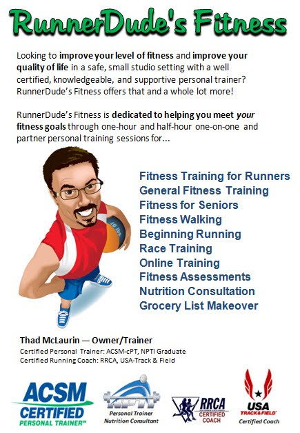RunnerDude\'s Blog: RunnerDude\'s Fitness