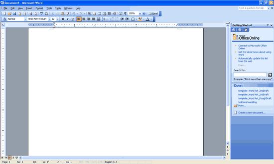 Digital World: Insert Tab In Microsoft Word