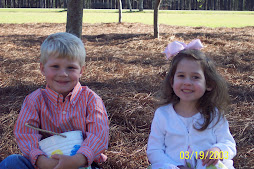 Little Man and Niece Easter
