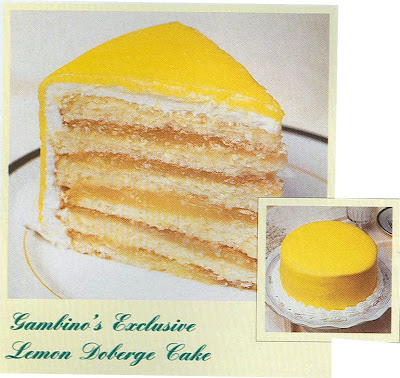 New Orleans Lemon Doberge Cake Recipe