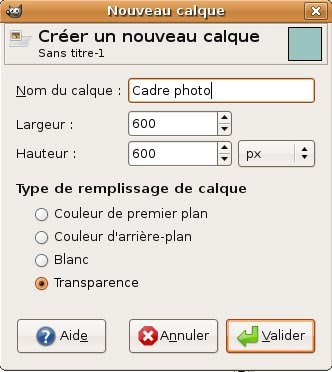 calque photo template