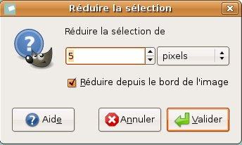outil reduire selection