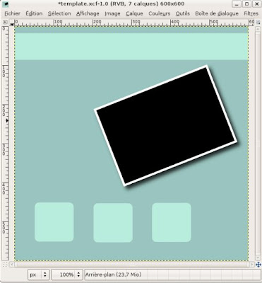 template gimp digiscrapbooking