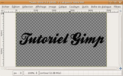 agrandir selection tutoriel gimp stickers